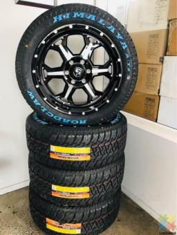 Brand New Tyres and rims set for Ford Ranger, Holden Colorado
