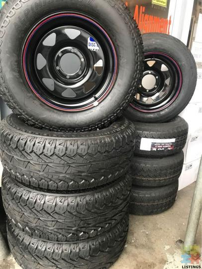 265/65/17 ALTT TERRAIN TYRES BRAND NEW FITTED AND BALANCED TYRES AND RIMS - 2/2
