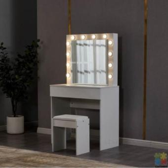 Per-order Sale brand new LED dressing table and stool (available 20th/October/2020)
