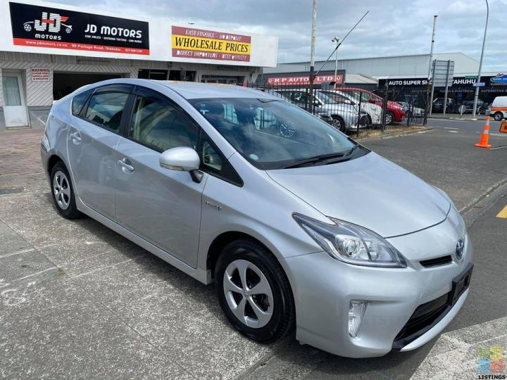2012 Toyota Prius S Very Low Kms with Cruise Control - 1/3