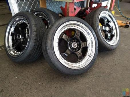 Mags, mud tyres, at tyrss, lift kit, lowering springs and many more from $20 per week