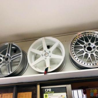 New designed wheels on combo deal Starts from $15 per week