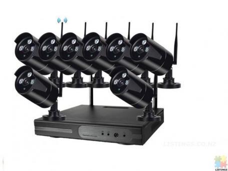 CCTV camera kit - Wired/Wireless - 4/8 channel