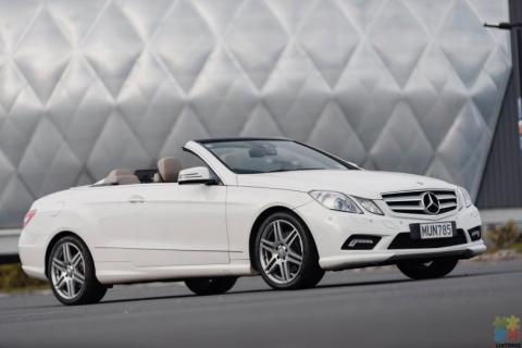 2011 Mercedes-Benz E 350 Cabriolet, 3.5L,V6, SPORT