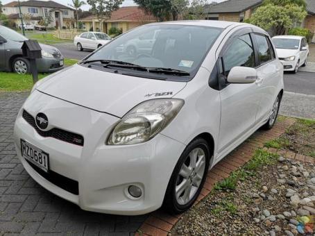 08 Toyota Vitz Rs