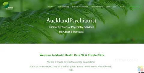 Auckland Psychiatrist