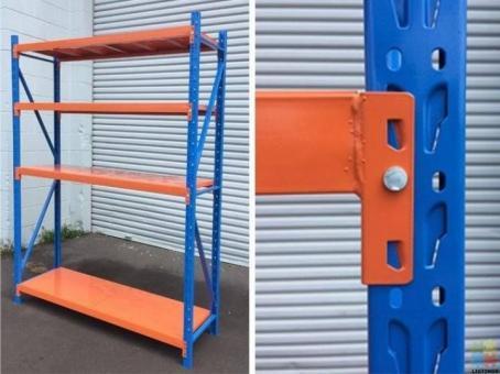 Garage Shelving - Powdercoated Steel