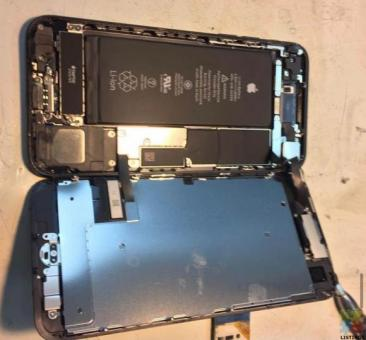 iPhone screen,battery,charging port replacement with in 20 minutes