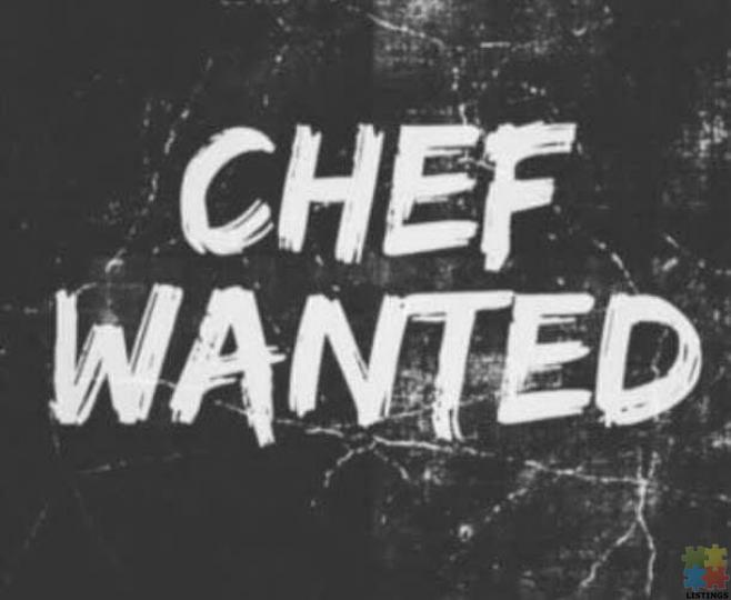Chef wanted - 1/1