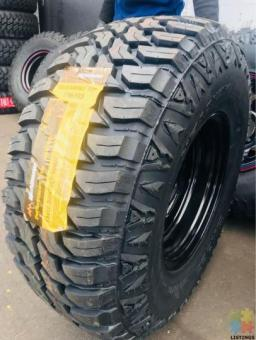 33x12.5R15 15x106x139.7 -44 BRAND NEW TYRES AND RIMS SET