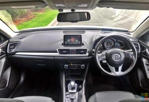 2014 Mazda axela hybrid**cruise control,rev-cam,alloys**