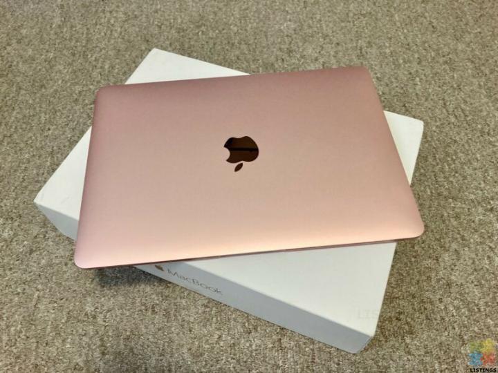 Apple MacBook 12-inch (2016, Rose Gold, Core m3) - 1/3