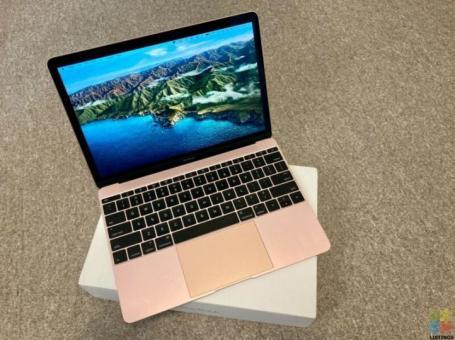 Apple MacBook 12-inch (2016, Rose Gold, Core m3)