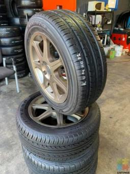 Used tyre & mags