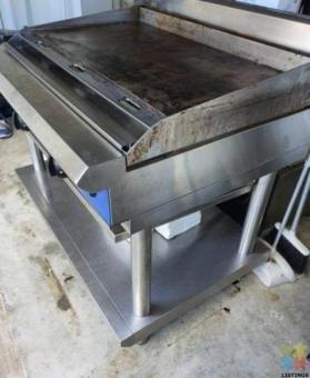 Blueseal 2 burners large hot plate griddle nz made
