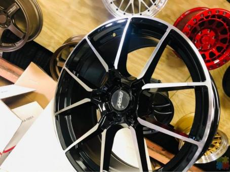 Rims with various sizes and offsets Available from only $20 per week
