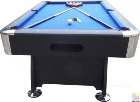 Brand New 7Ft Pool Table With Auto Ball Return (Blue Cloth)
