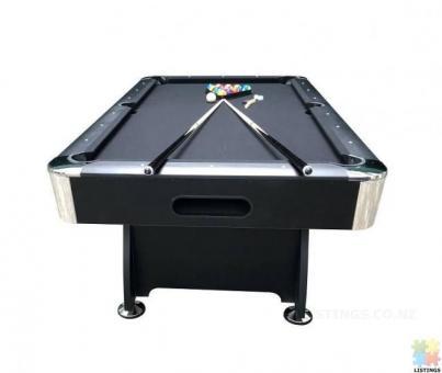 Brand New 7Ft Pool Table With Auto Ball Return (Black Felt)