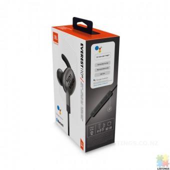 JBL Everest 110GA Wireless In-Ear Headphones - Gunmetal - Google Assistant integrated, up to 8hr bat