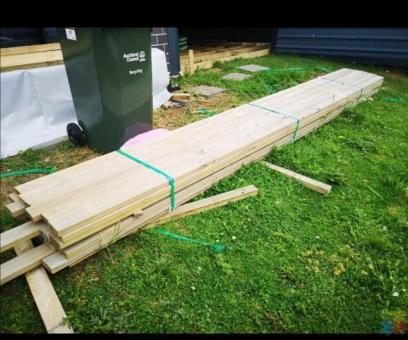 Decking or fencing material available