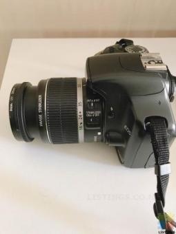 Canon 450D +18-55 IS kit lens with SD Card And Bag