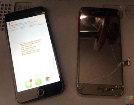 iPhone Lcd screen replacement with 3 months warranty