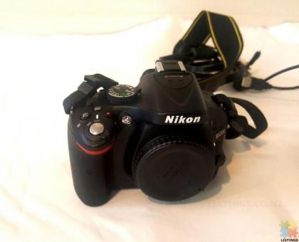 Nikon D5200 Body + Lense 50mm