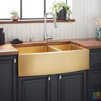 Fire clay ceramic butler sink