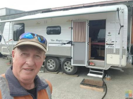 23 foot self contained caravan to Rent