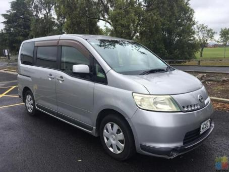Nissan Serena 2005 (certified self-contained until 2024