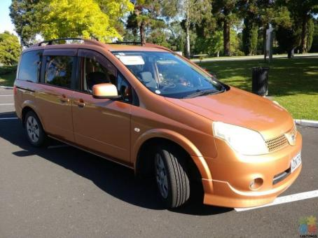 2005 Nissan lafesta camper self contained