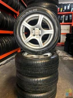 Used tyre and mags