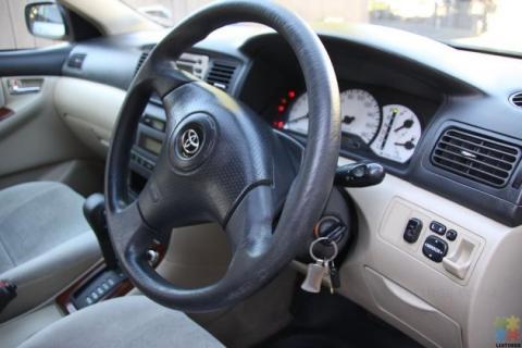 2001 Toyota corolla runx