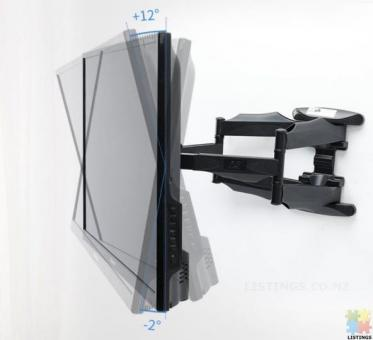 """Full Motion TV Wall Cantilever Mount for LED, LCD & Plasma TVs Size 32"""" - 60"""""""