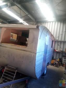 Retro caravan very rare