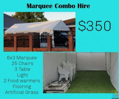 Marquee Combo Hire