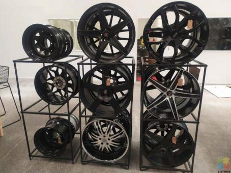 New design of mags and tyres combo from $ 18 per week