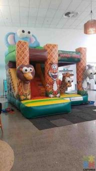 Junior Jungle Bouncy Castle FOR HIRE