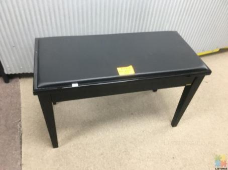 NEW PIANO BENCH WITH STORAGE