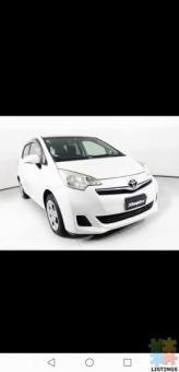 2012 Toyota Ractis from $31 weekly