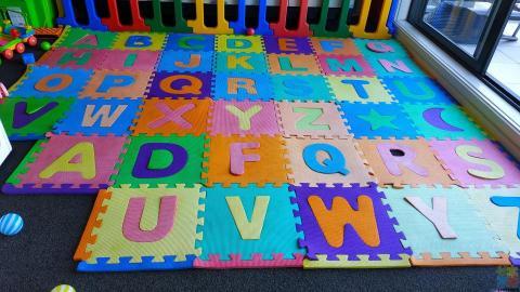 Kids Mat Alphabets