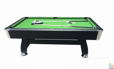 Brand New 7Ft Pool Table With Auto Ball Return (Green Felt)