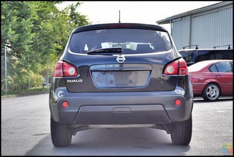 2007 Nissan dualis**reversing camera+jbc stereo system+factory alloys**