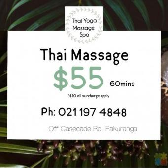 Thai Massage 60mins*$55