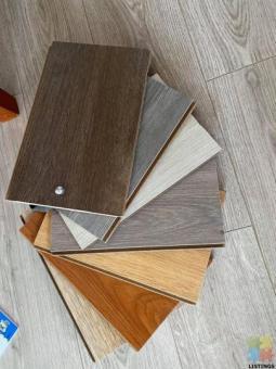 Laminate, SPC and Vinyl flooring
