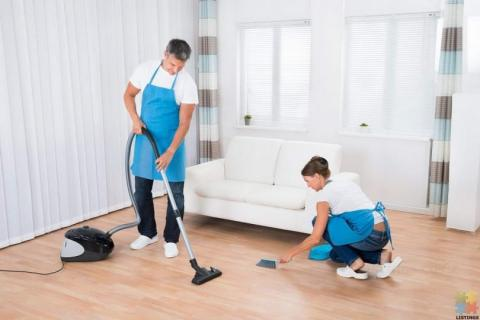 cleaning position