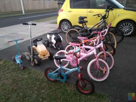 Kids and Adults Bikes and Scooters for sale