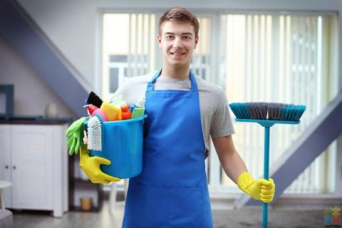 Cleaning job available.