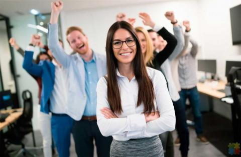 enthusiastic and motivated people