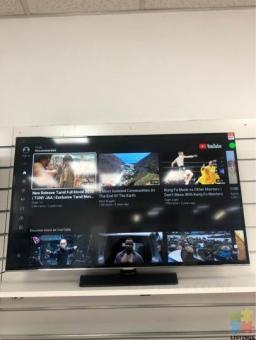 "Samsung 40"" smart tv inc remote"